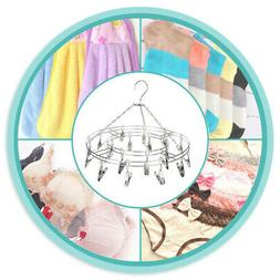 Stainless Steel Underwear Sock Hanger Laundry Airer Dryer dr