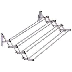 Stainless Steel Wall Mount Expandable Clothes Dryer Hanging