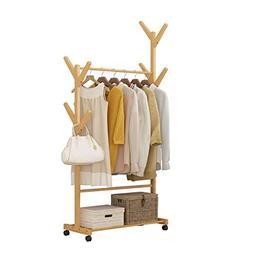 coat stand Coat rack creative living room hangers bamboo flo