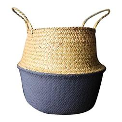 Storage Barrels, Yezijin Seagrass Wicker Basket Wicker Baske