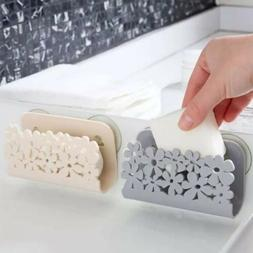Storage Drying Drain Rack Soap Suctions Of Kitchen Sink Bath