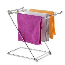 Storage Rack Dishcloth Rack Kitchen Towel Cloth Shelf Foldab