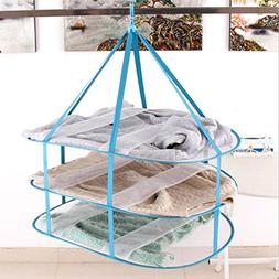 DELIWAY Large Size Sweater Hanging Dryer, 3 Tier Drying Rack