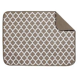 t microfiber dish drying mat