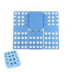 OSOPOLA Clothes/T Shirt Folder Blue Plastic Adjustable Laund