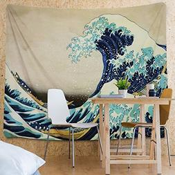 Tapestry Wall Tapestry Wall Hanging Tapestries The Great Wav