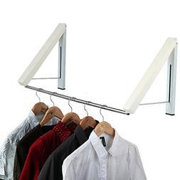 Telescopic invisible clothesline indoor lifting rack foldi i