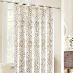 BEOKREU Tension Rod Shower Curtain Rod Tension Curtain Rod C