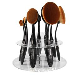 Top Quality New Arrival 10 Hole Oval Makeup Brush <font><b>H