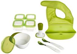 OXO Tot Mealtime Starter Value Set with Roll-up Bib, Feeding