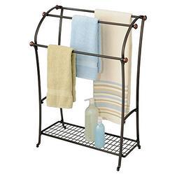 Towel Rack Storage Toilet Paper Roll Bars Shelf Bath Accesso