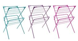 Trendy Design 2 Tier Clothes Collapsible Drying Rack Perfect