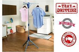 Tripod Clothes Drying Rack, Black