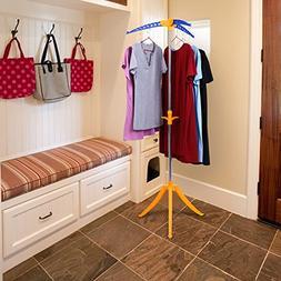 Bluefringe Tripod Drying Rack Clothes Hanger Portable Foldin