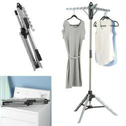 Tripod Drying Rack Outdoor Collapsible Steel Stand Dryer Ind