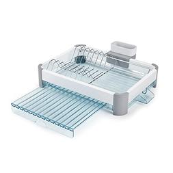 Minky Extending Dish Rack, White