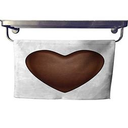 Sports Ttowel Glossy Vector Chocolate Heart bonbon Towel W 8