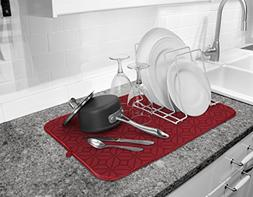 Cuisinart Ultra Absorbent Kitchen Dish Drying Mat, 100% Micr