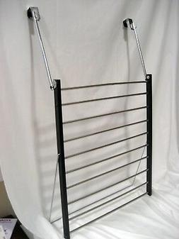 Un-Used Over-The-Door Drying Rack 10 bars for hanging or dry