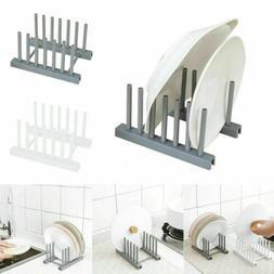 US Kitchen Plate Dish Drying Rack Home Organiser Storage Dra
