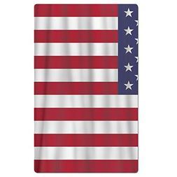 FSKDOM Usa American Flag Cotton Easy Care Maximum Softness A