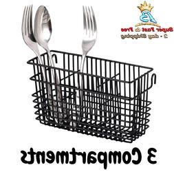 Utensil Drying Rack Basket Holder Drainer Sturdy Stainless S