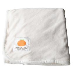Satsuma Designs Velour Baby Blanket - Natural