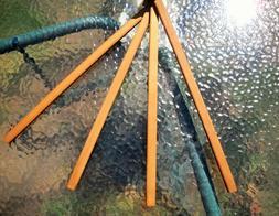 vintage wood towel 4 swing arm 18