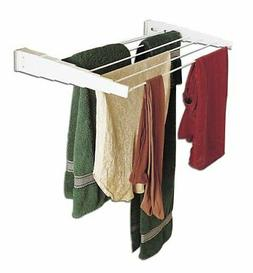 Household Essentials Wall-Mount Telescoping Indoor Clothes D