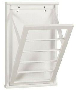 Wall Mounted Clothes Drying Rack For Laundry Room - Small -