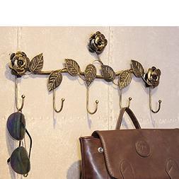 MQ&PQ Wall-mounted coat rack,Clothing store hanger european