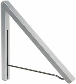 Anjuer Wall Mounted Drying Rack Clothes Hanger Folding Wall