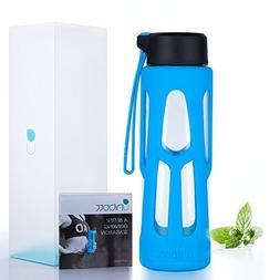 Sport Water Bottle,Unibott 17oz Tritan Water Bottles BPA Fre
