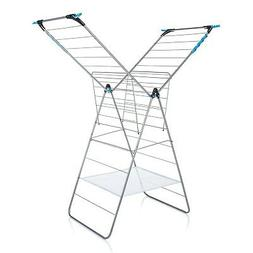 minky X-Tra Wing Drying Rack, 78', Silver 78'