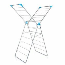 Minky X Wing Drying Rack, 45', Silver