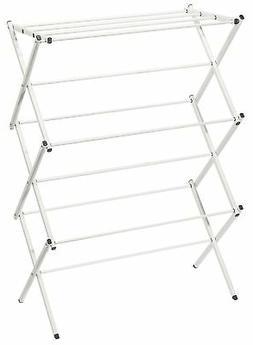 STORAGE MANIAC XL Foldable Clothes Drying Rack, 41 Inch Heig