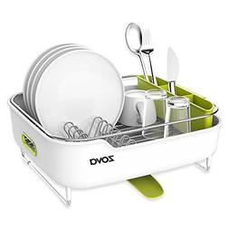 zova Premium Stainless Steel Dish Drying Rack with Swivel Sp