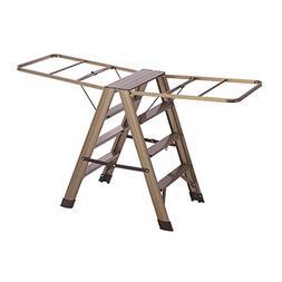 LiuJianQin Step stool ZXQZ Step Stool Indoor Aluminum Alloy